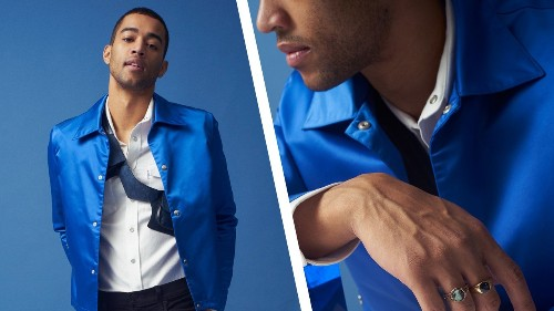 How to Wear Blue the Right Way, Right Now
