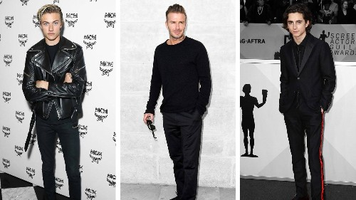 How to Wear Black: Instant Cool in 14 Menswear Essentials