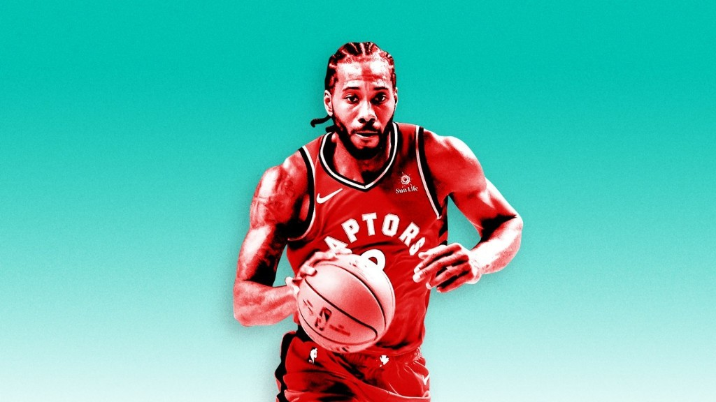 Kawhi Leonard The Klaw - cover