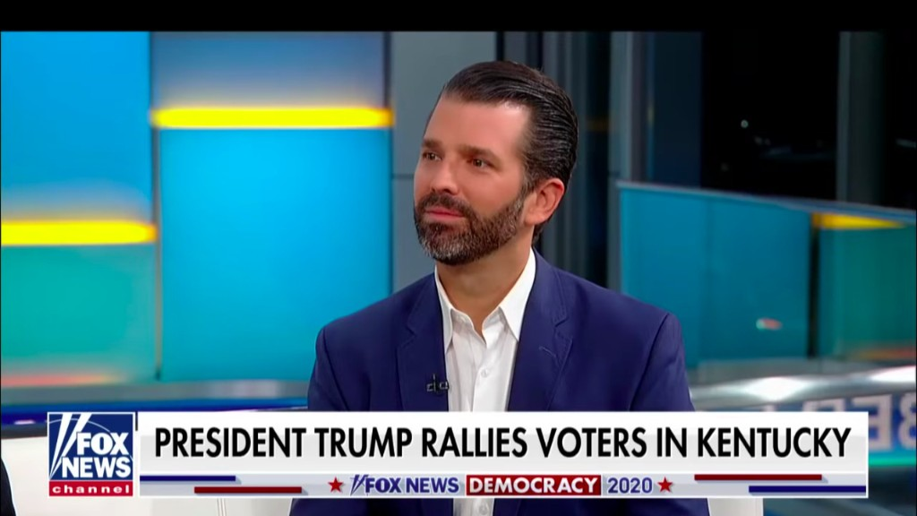Donald Trump Jr. Throws Trump-Allied Kentucky Governor Under the Bus After Loss