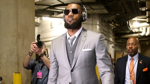 LeBron James and the Cleveland Cavaliers Are the Best-Dressed Team in the NBA