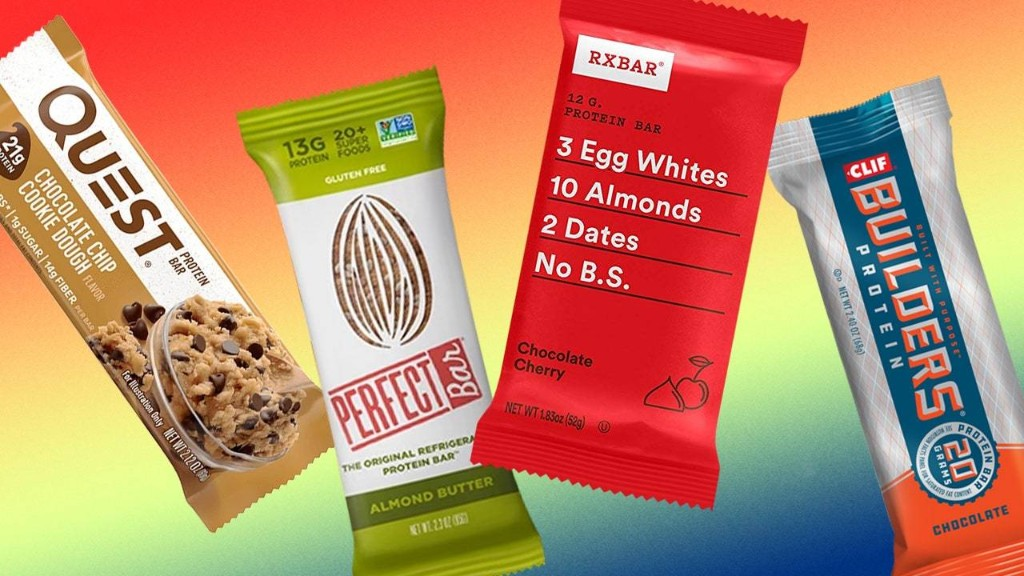 These Are the Best Protein Bars, According to Nutrition Experts