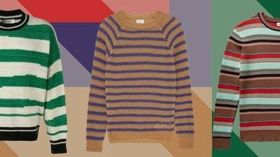 The Striped Sweater Just Got Weird—in a Very Good Way