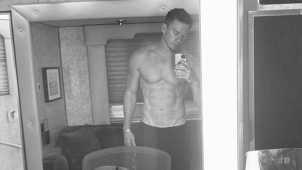 Channing Tatum Shows Off His Fresh Crew Cut (Also: Abs)