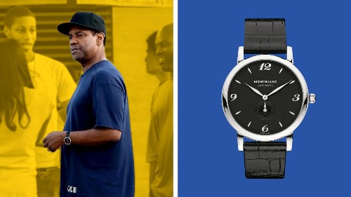 Denzel Washington's Watch Is (Relatively) Affordable!