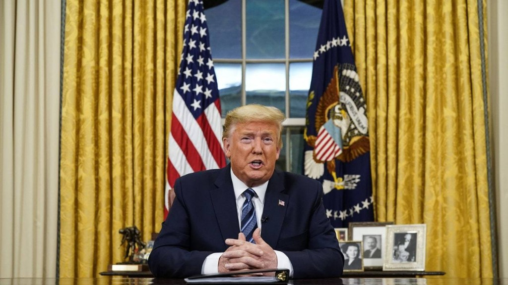 Trump's Insane Coronavirus Address Just Tanked the Stock Market