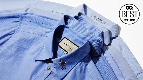 The Best Blue Dress Shirts for Men Are the Workhorses of Your Office Wardrobe