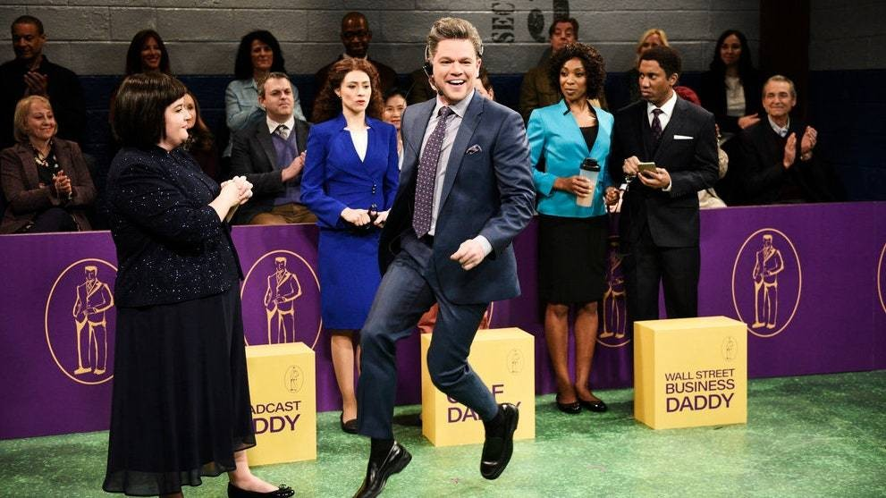 Of Course Matt Damon Won the Westminster Daddy Show on 'SNL'