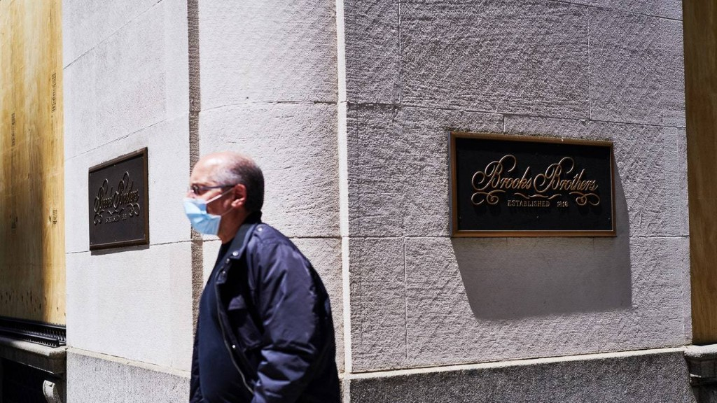 Brooks Brothers Files for Bankruptcy