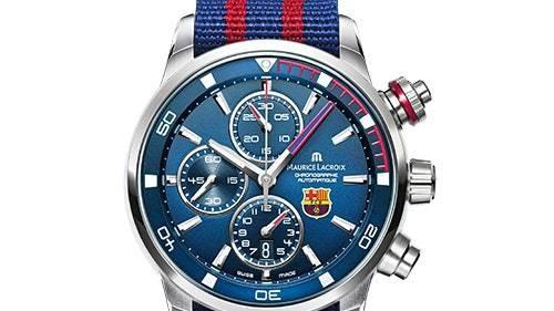 Maurice Lacroix выпустили часы для болельщиков «Барселоны»