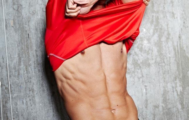 Men's fitness - Magazine cover