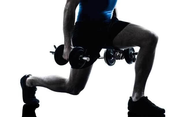 Leg Workout - Magazine cover