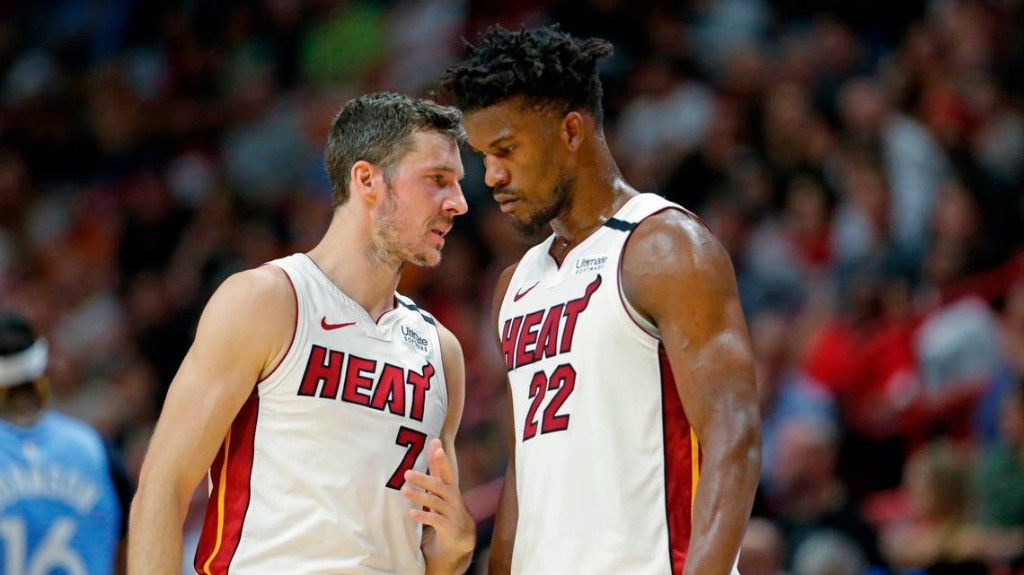 Goran Dragic discusses new normal during NBA shutdown, which includes Heat workouts on Zoom