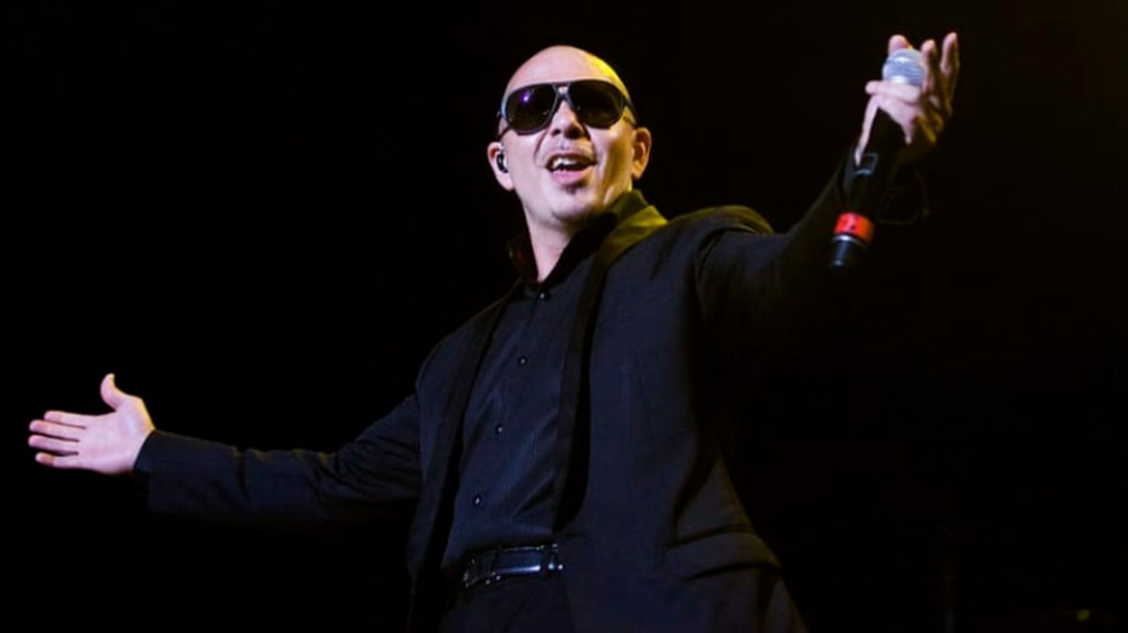'Face everything and rise': Pitbull is motivating us through this coronavirus crisis