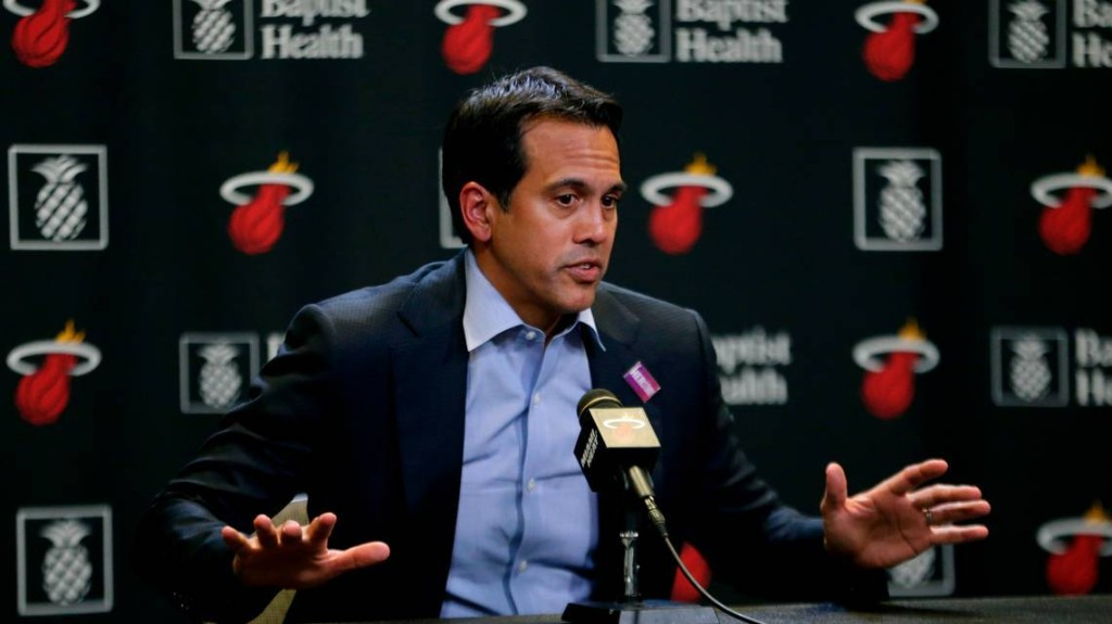 Heat's Spoelstra explains why he doesn't want to coach elsewhere. And Duncan's new mission