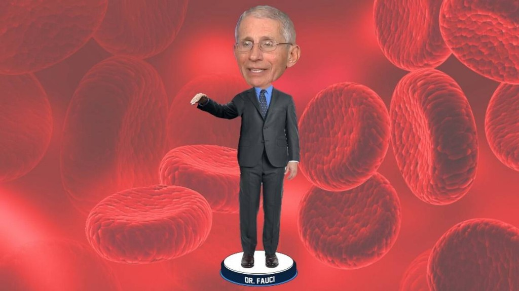 Now you can buy a bobblehead of coronavirus hero Dr. Anthony Fauci. Don't touch its face