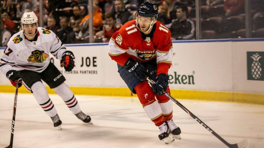 Jonathan Huberdeau, Mike Hoffman and Sandy Alcantara make donations for COVID-19 relief