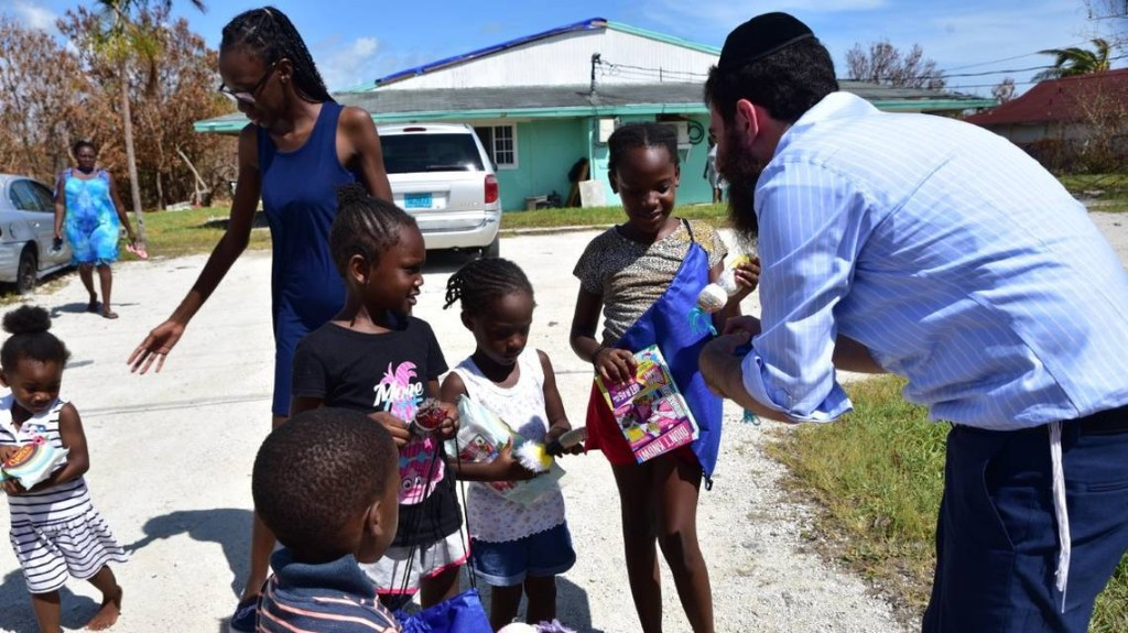 A Jewish community is making a big difference in hurricane-ravaged Bahamas. Here's how.