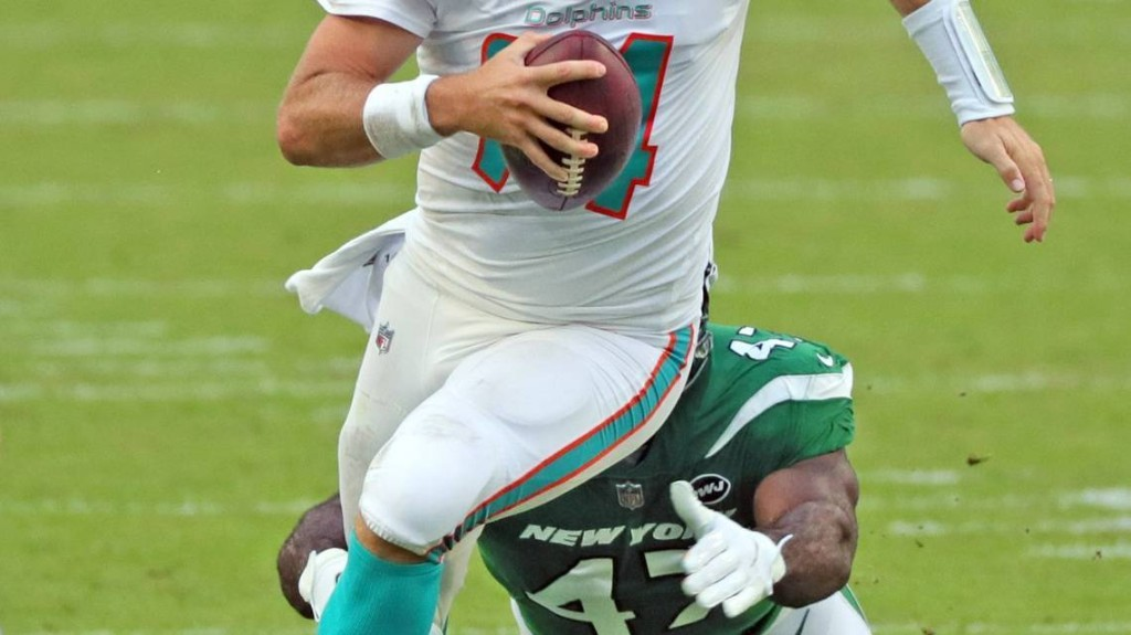 Ryan Fitzpatrick said he's shocked, has broken heart after losing Dolphins starting job