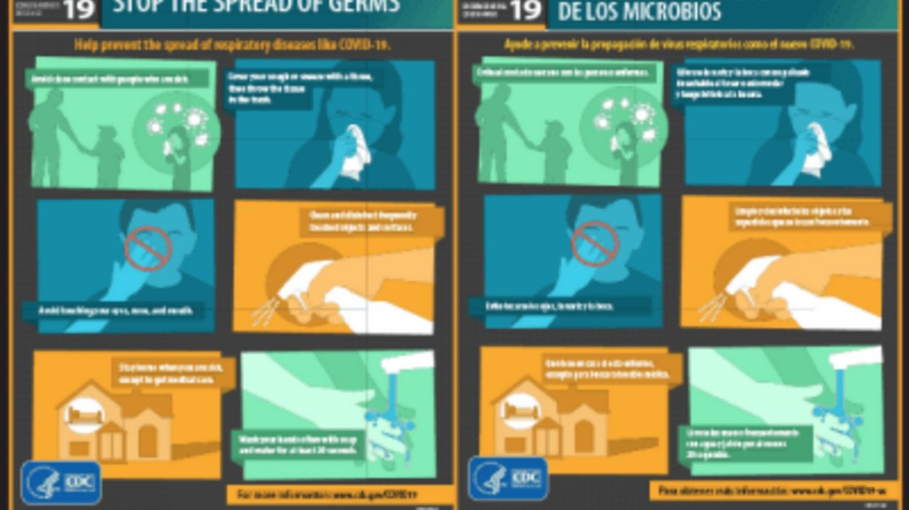 Trump administration orders immigration courts to remove coronavirus posters– then takes it back