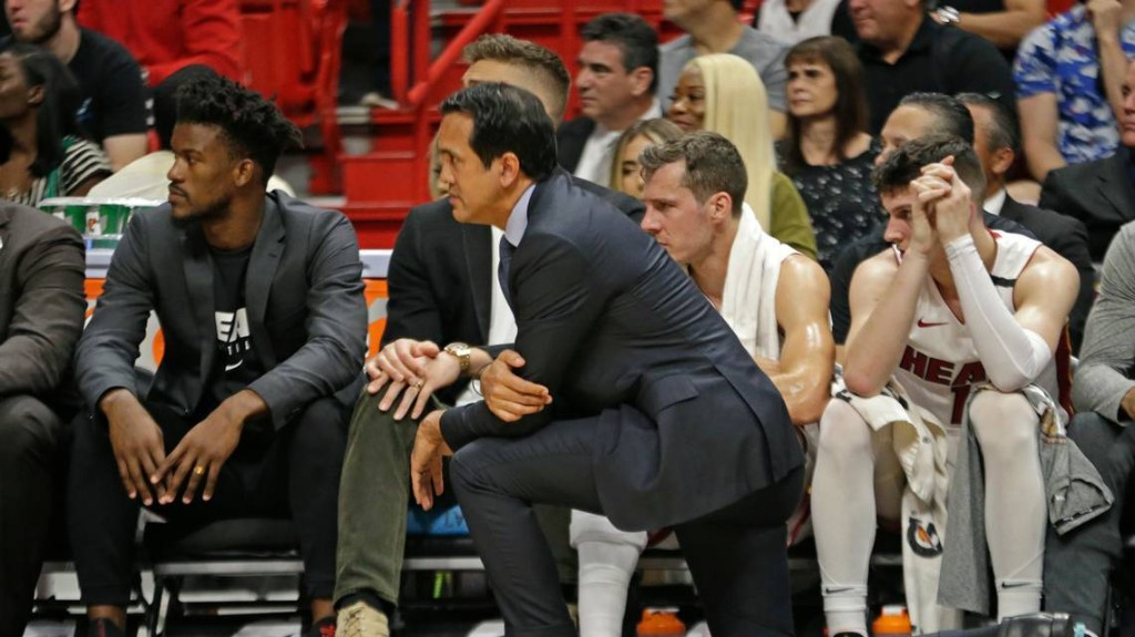 Erik Spoelstra trying to stay positive and keep Heat connected during NBA shutdown
