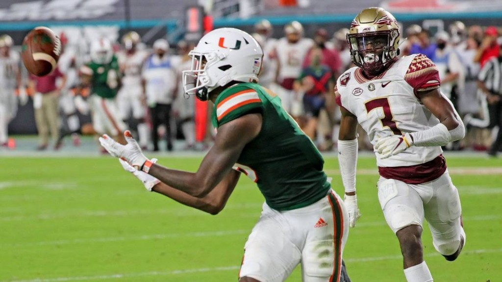 Hurricanes do something unusual at receiver, clarify playing time decisions elsewhere