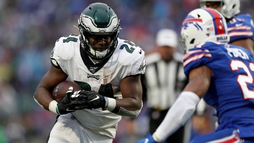 An injury cost Jordan Howard his job in Philadelphia, but he can be a workhorse in Miami