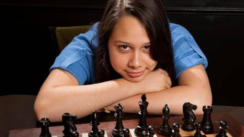 She grew up playing chess on the streets of Havana. Now she's among the best in the U.S.