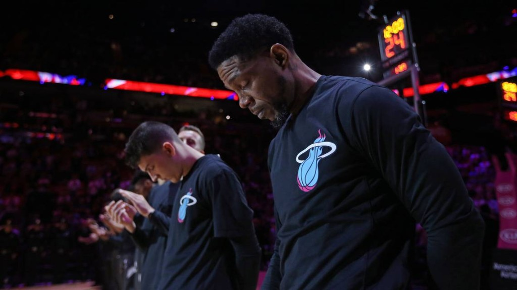 Udonis Haslem had a message and Miami listened: 'I'm thankful I have this platform.'