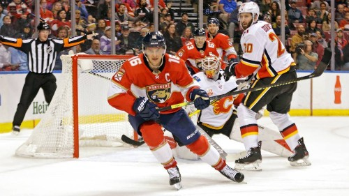 Panthers' Barkov on NHL's return: 'When everything is fine, we'll get hockey back'