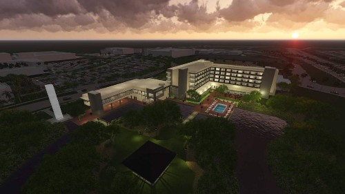 Florida International University is building a hotel on its main campus