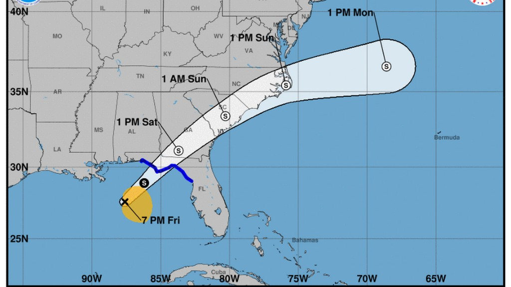Tropical Storm Nestor could bring dangerous storm surge to Panhandle