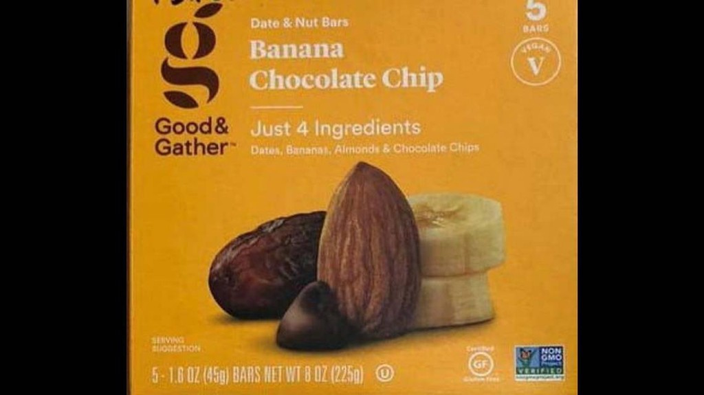 Food bar sold exclusively by Target recalled for problem that's 'serious' for some