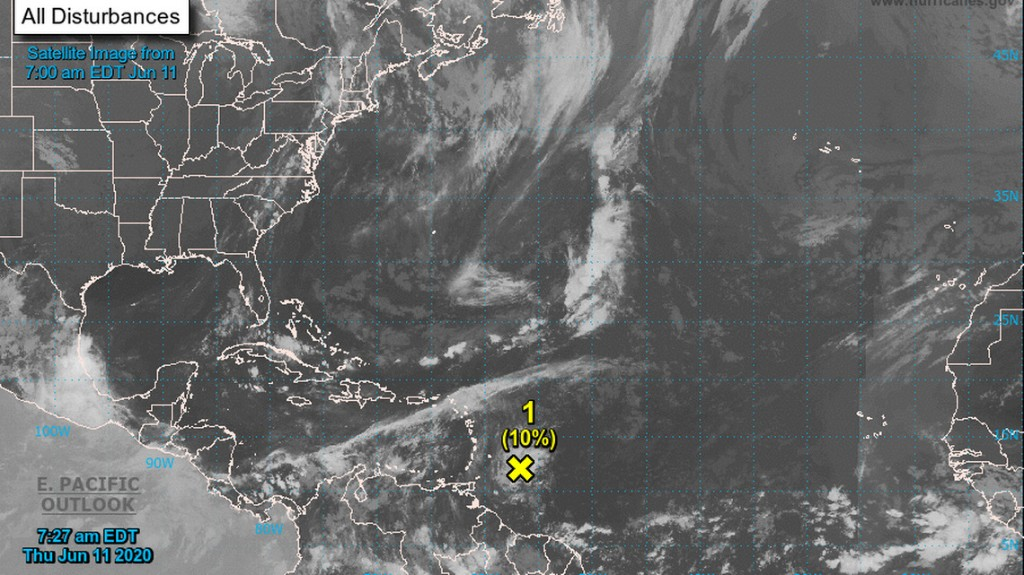 Tropical disturbance heading toward Caribbean islands will impact South Florida weather