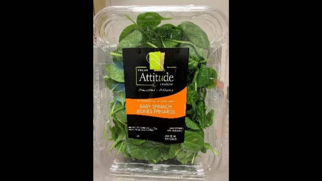 Baby spinach sold in New York and five other states recalled over salmonella concerns