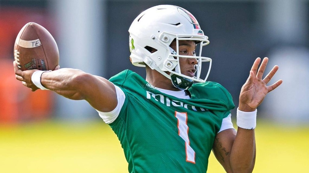 Top Miami football players and Manny Diaz relay message in video from their homes