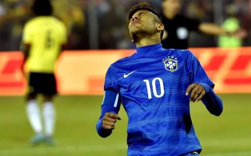 Neymar, castigado cuatro partidos; fuera de Copa América