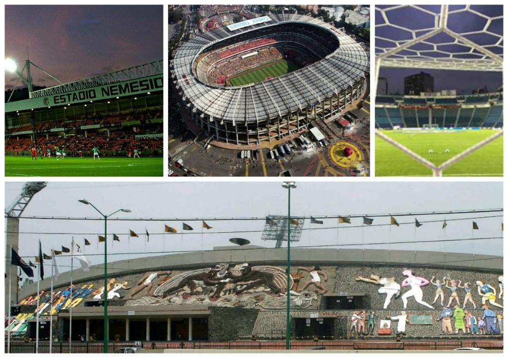 Estadios que se han hecho viejos