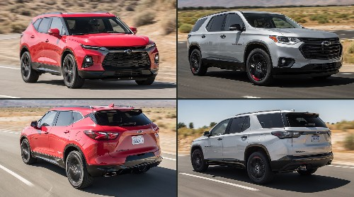 Chevrolet Blazer vs. Chevrolet Traverse: What's the Difference?
