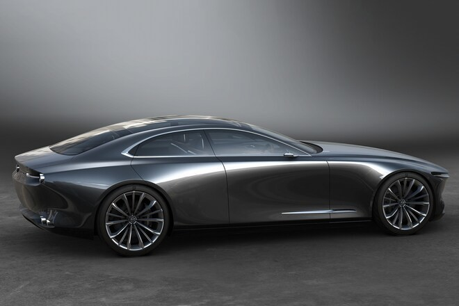 The Mazda Vision Coupe Concept is One Gorgeous Sedan