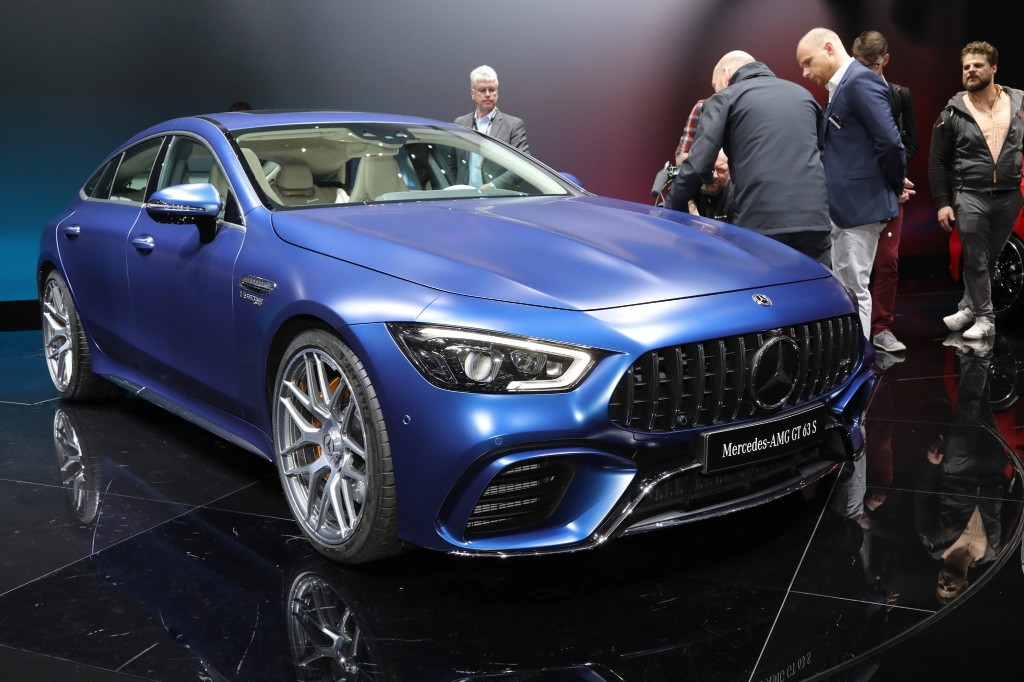 """2019 Mercedes-AMG GT 4-Door Coupe is """"Surprising"""" to Drive, AMG Boss Says"""
