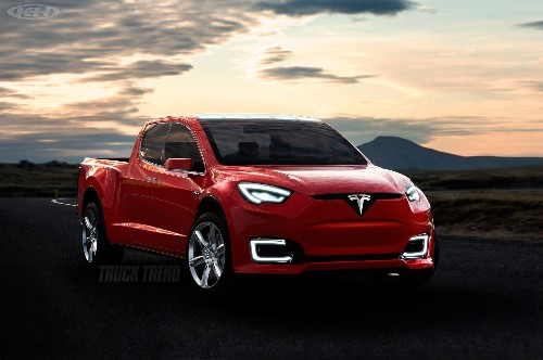 Could the Upcoming Tesla Pickup Truck Look Like This?