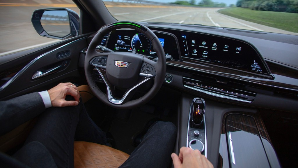 "GM's ""Ultra Cruise"" Aims to Take on Tesla's Full Self-Driving Option"
