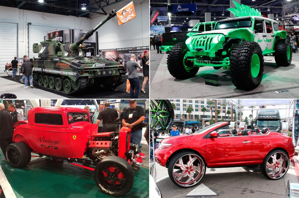 10 Wild and Wacky 2015 SEMA Show Builds