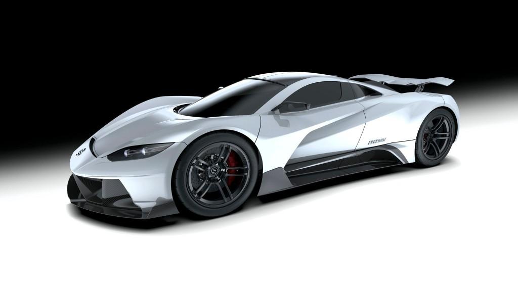 Elation Hypercars Freedom Is a 1,900 HP Hyper-EV Hopeful