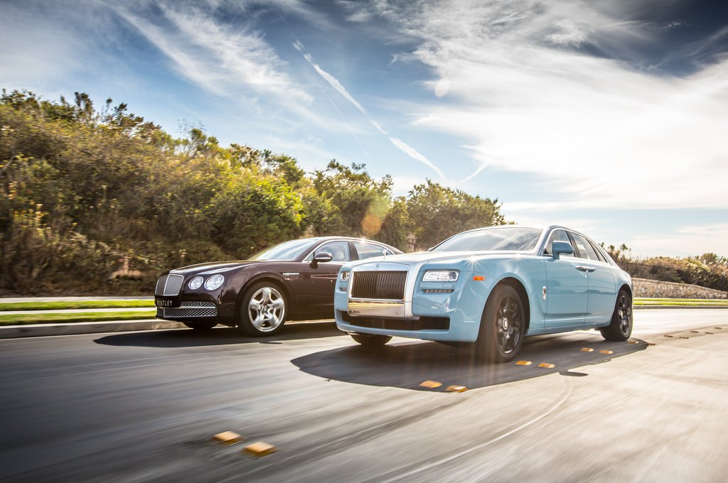 2014 Bentley Flying Spur - Magazine cover