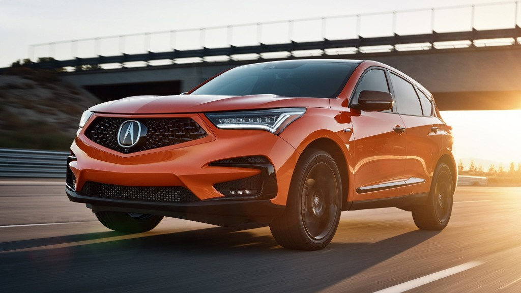 2021 Acura RDX PMC Edition: A Very Orange, Very Limited Luxury SUV