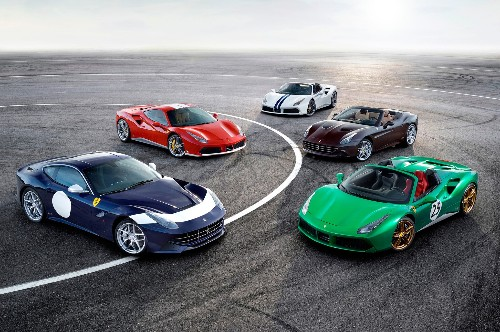 350 One-Off Ferraris Coming in 2017