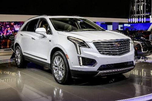 2017 Cadillac XT5 Makes U.S. Debut in L.A.