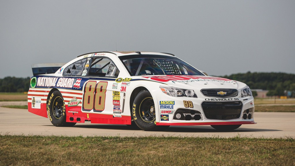 Do It for Dale (Jr.) and Bid on His Old NASCAR Chevy SS Race Car